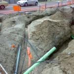 Underground telco cabling